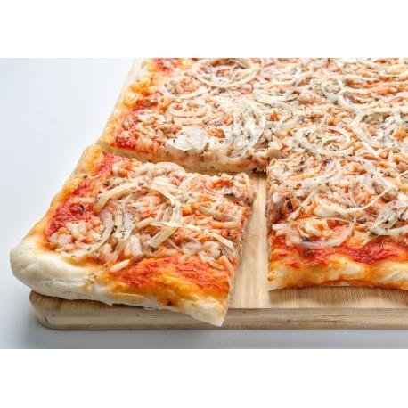 Pizza Plancha  Atún y Cebolla