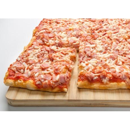 Pizza Plancha Bacon y Jamón