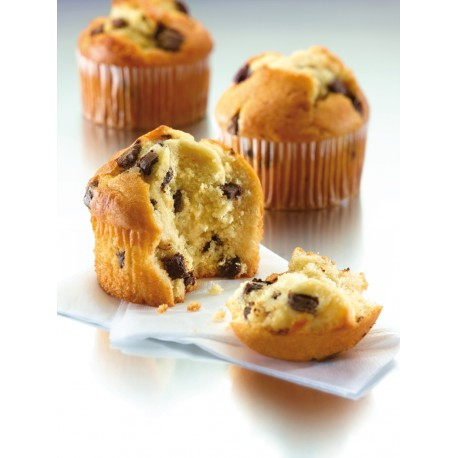 Muffin Jumbo con chips de chocolate