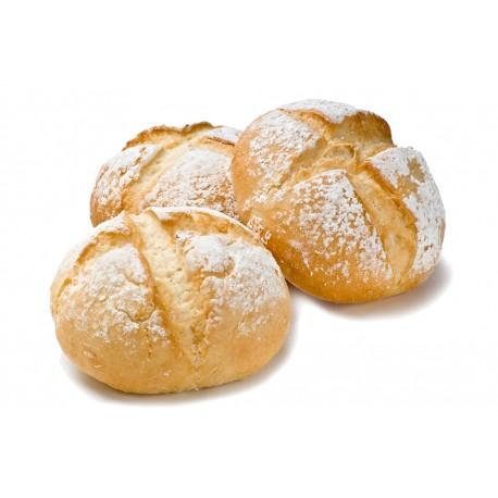 Pan redondo rústico sin gluten