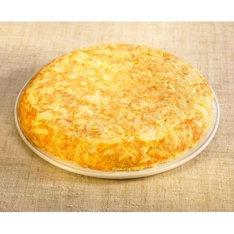 Tortilla Redonda Patata y Cebolla