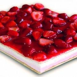 Plancha Fresas con Nata